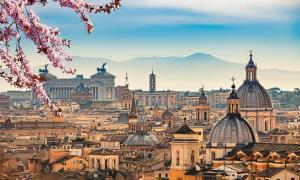 The Seven Hills of Rome are considered to be located in the center of the city. Source: sborisov / Adobe Stock