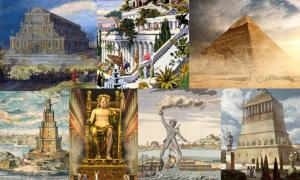 Seven Wonders of the Ancient World.
