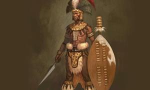 Concept Art for Shaka of the Zulu