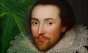 The Cobbe portrait, claimed to be a portrait of William Shakespeare done while he was alive.