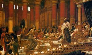 The Visit of the Queen of Sheba to King Solomon