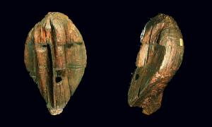 The Shigir Idol head