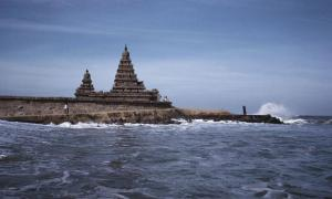 Shore Temple. Mahabalipuram, India.