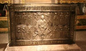 The ark that contains the Sudarium of Oviedo.