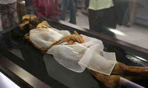 Siberian elders vote to rebury 2,500-year-old mummy with angry spirit