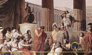 Odysseus at the Court of Alcinous (1814-1816) by Francesco Hayez (Public Domain)