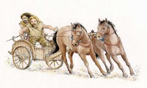 A Silures wagon by Anne Leaver.