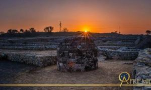 Sirkap is the ancient remains that have been recovered after excavation in Taxila