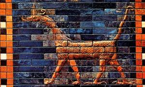 The Sirrush Dragons guarded the Gate of Ishtar - Babylon