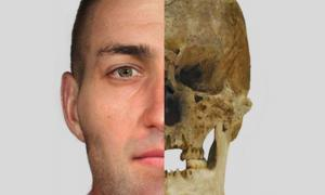 Torbrex Tam; facial reconstruction carried out by Emily McCulloch