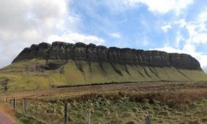 Ben Bulben, Sligo County, Ireland.