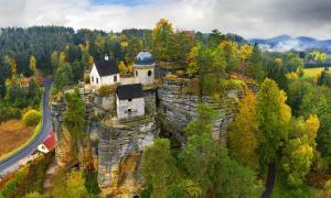 Sloup Castle: Bohemia's Salt Trade Defense, Hermitage and Tourist Spot