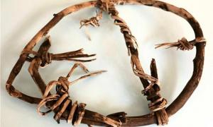 5,800-Year-Old Snowshoe Kept in Office as a Keepsake by its Finder is Oldest in the World