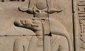 Sobek, the Crocodile God - Egypt