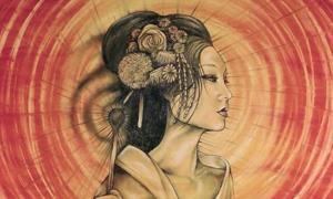 Amaterasu, a major goddess of Japan.