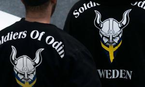 Soldiers of Odin in Stockholm 2016