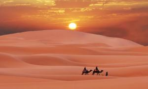 A new study has found links between the end of the Green Sahara, the era when the Sahara Desert was lush and green, and the Southeast Asian megadrought that lasted a millennium. Source: Galyna Andrushko / Adobe Stock