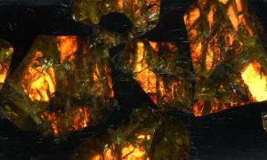 Pallasite (Fukang Meteorite