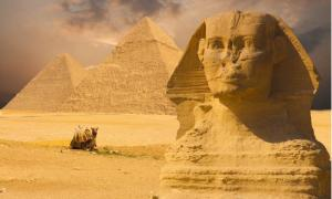 The Sphinx and Great Pyramids of Egypt