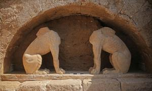 Sphinxes Revealed in Newly-Discovered Ancient Greek Tomb