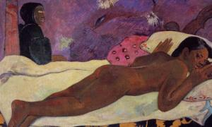 The Spirit of the Dead Keeps Watch' (1892) by Paul Gauguin.