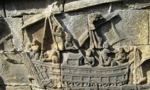 Srivijaya was a maritime trade center. Source: Anandajoti / CC BY-SA 3.0