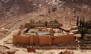 St. Catherine's Monastery, Sinai Peninsula, Egypt (Wikimedia Commons)