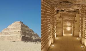 Step Pyramid of Djoser in Saqqara now open