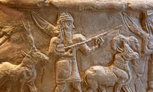 Sumerian civilization artifact.