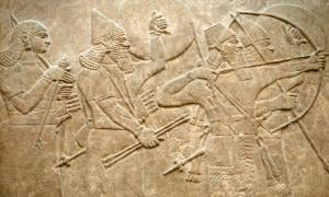 Sumerian warriors