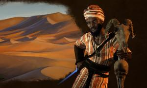 Sundiata Keita, the Lion King of Mali.