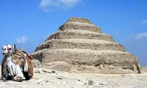 The Saccara Pyramid of Djoser, Egypt.