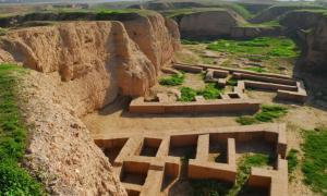 The ancient city of Susa in Iran