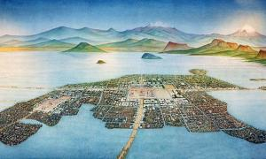The ancient city of Teotihuacan, Mexico