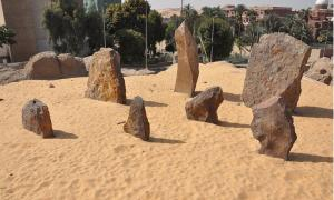 Table Rocks in Nabta Playa
