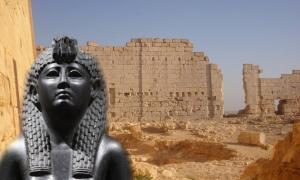 Is Cleopatra's tomb at Taposiris Magna's temple?