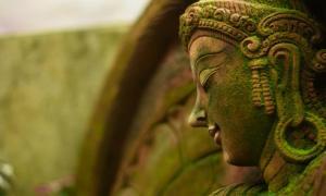 Buddhist goddess. Credit: neenawat555 / Adobe Stock