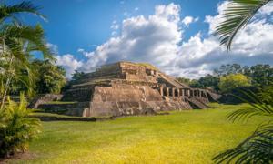 Mayan pyramid of TazumalSource: Joey / Adobe Stock