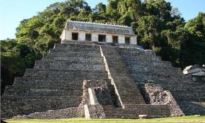 Temple of the Mayan King Pakal