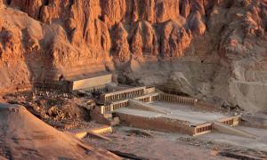 The Mortuary Temple of Hatshepsut at Deir el-Bahri