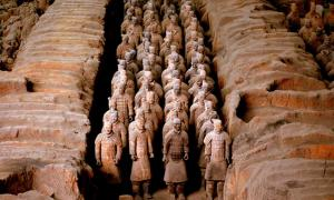 Terracotta Warriors, Xi'an, China.