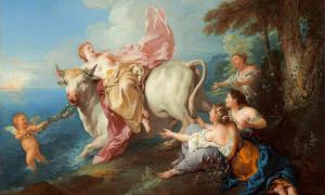 The Abduction of Europa, 1716, Jean Francois de Troy.