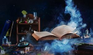 The Black Book is said to hold all the magical practices in opposition to the divine.