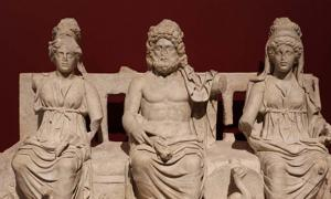 The Capitoline Triad, the Museum of Guidonia.