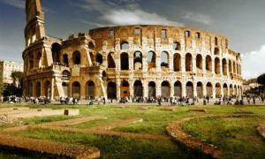 The Colosseum in Rome, once home to the most brutal games in history.
