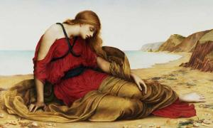 'Ariadne in Naxos' (1877) by Evelyn De Morgan.