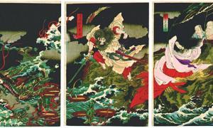 The Kusanagi: Unseen Legendary Japanese Sword