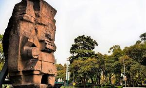The Monolith of Tlaloc.