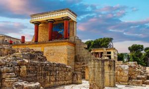 The Palace of Knossos, Crete.