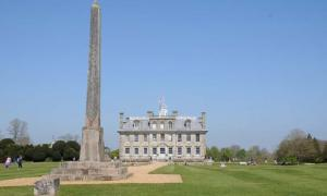 Kingston Lacy and Egyptian Obelisk, discovered on an island in the Nile by William Bankes in 1815